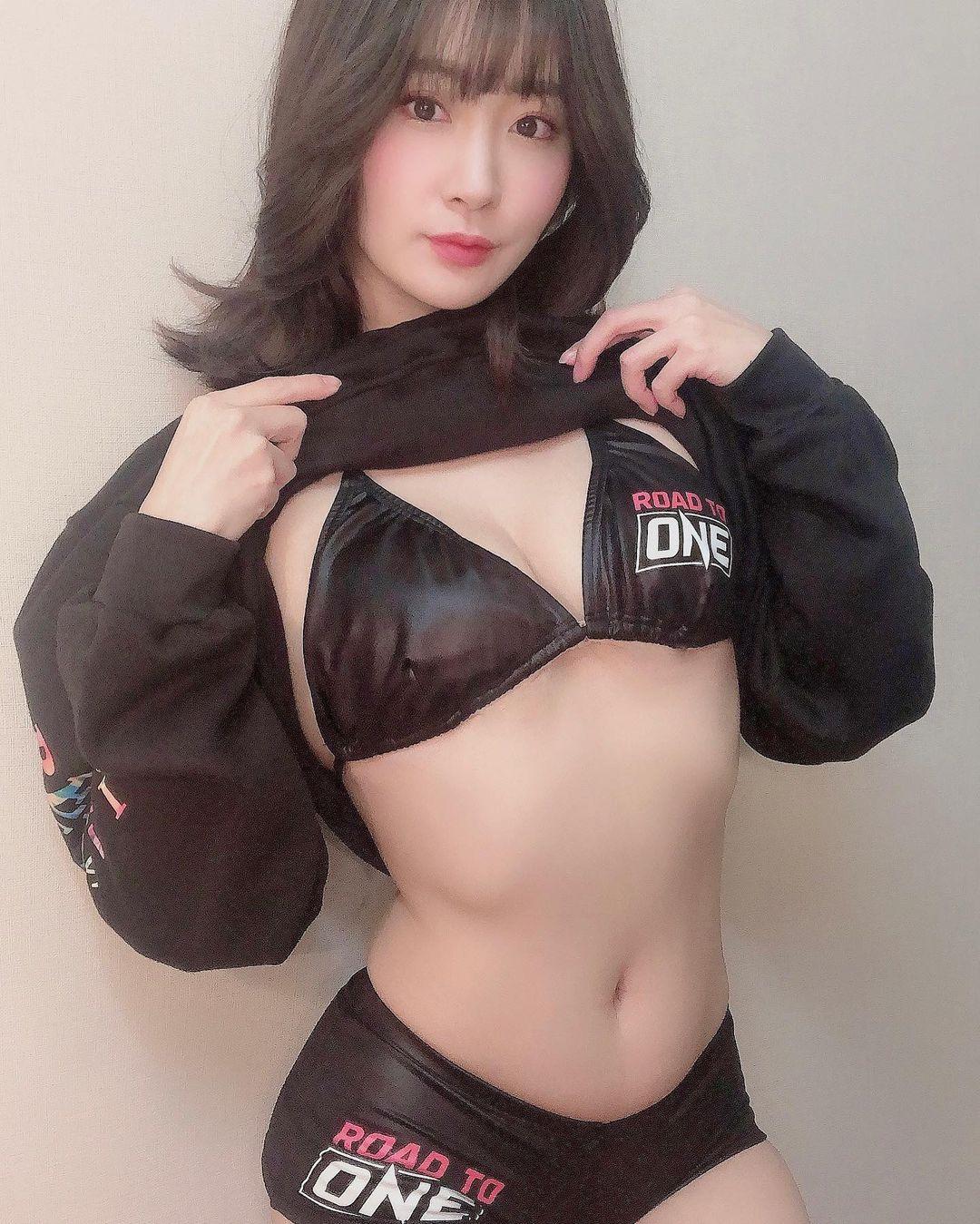 「見逃した方はAbemaで観れるのでぜひ観てね」Abema格闘チャンネル『Road to ONE』をPR【池尻愛梨さん/2021年2月22日】