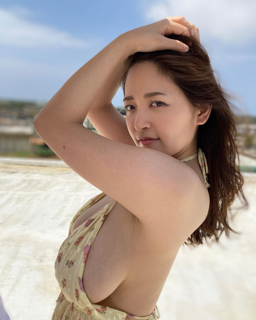 「タイトルは何になるか今から 楽しみだねっ^ ^」宮古島での新作DVD撮影を報告【柳瀬さきさん/2021年4月16日】