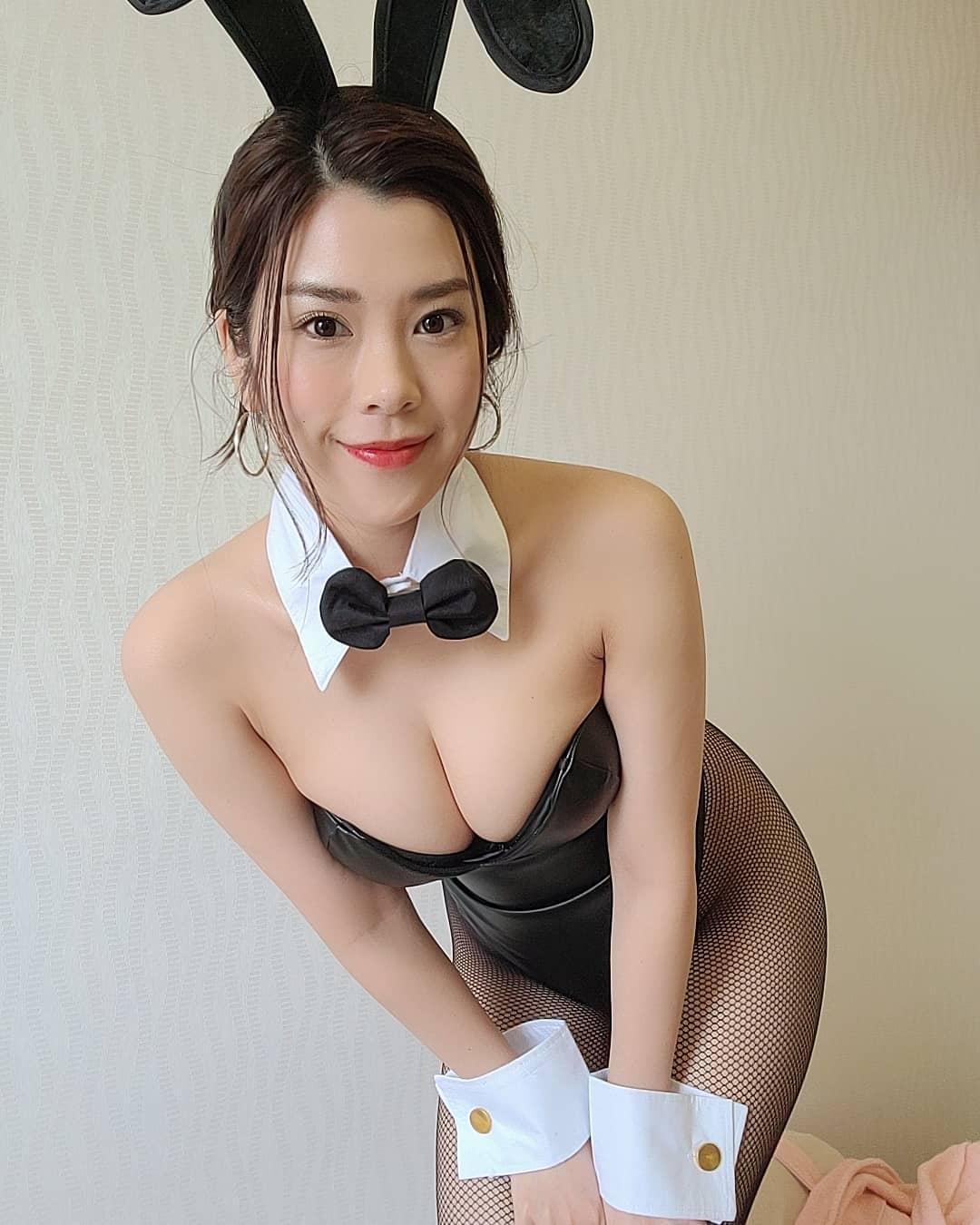 「おはようさぎ」セクシーバニーガール衣装姿でファンを魅了【内田瑞穂さん/2021年5月4日】