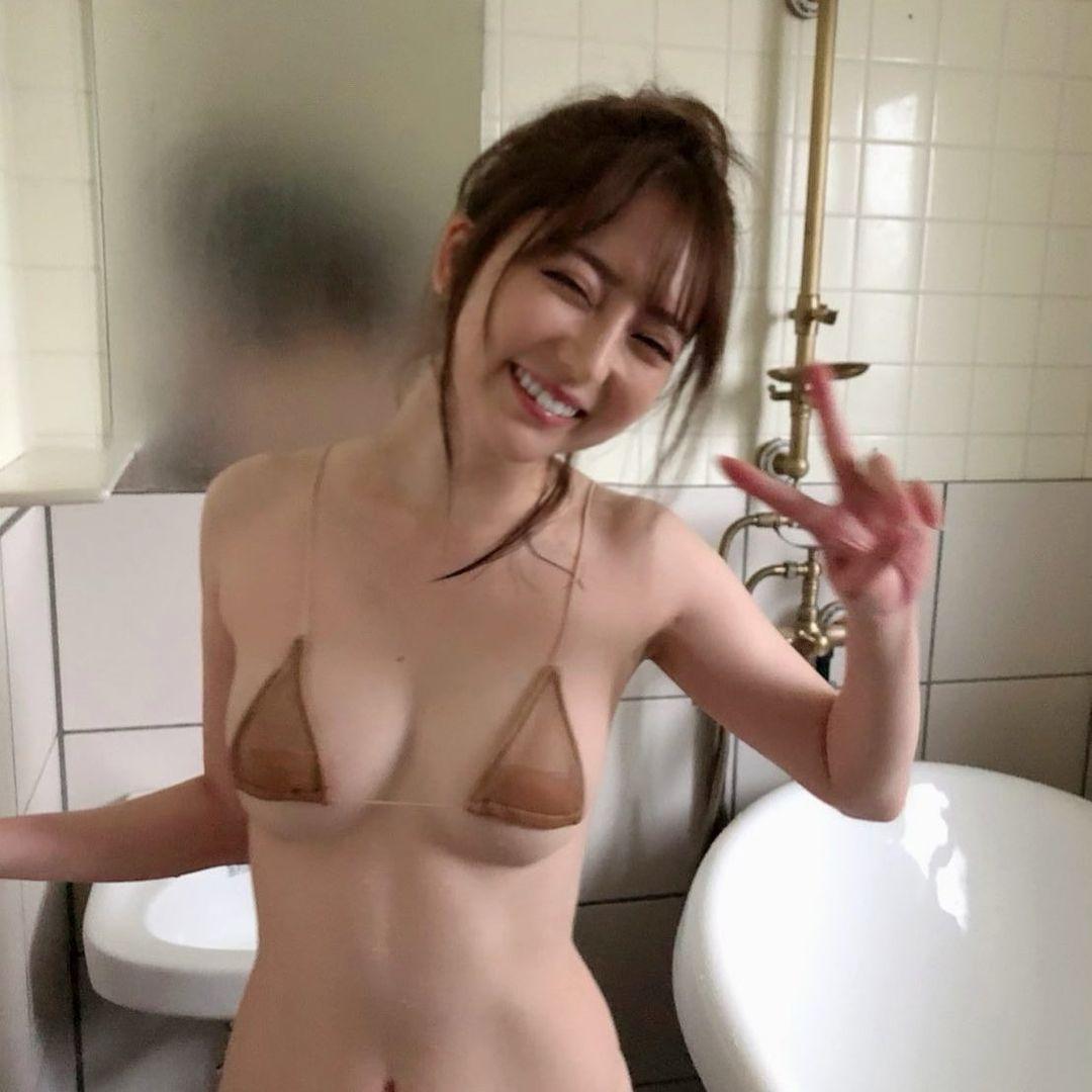 「撮影オフショットだよん」DVD『癒してアゲちゃう♡』をPR【堀尾実咲さん/2021年9月19日】